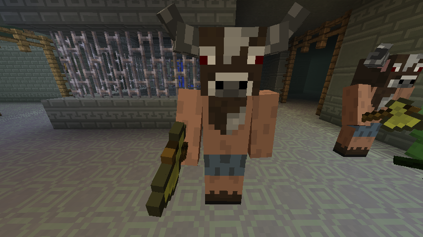 A Minotaur in the Labyrinth.