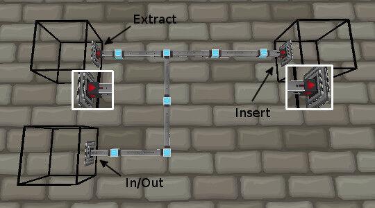 Figure 7, Pressurized fluid conduits.