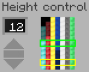 The Height Controller GUI