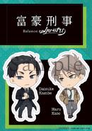 BD & DVD Volume 1 Sticker