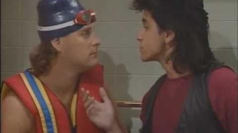 """Jesse sings """"Love Me Tender"""" to Joey in the bathtub"""