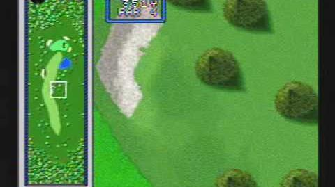 Hole in One Golf - SNES Gameplay
