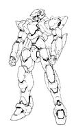 ARX-7 Arbalest Original Version Lineart