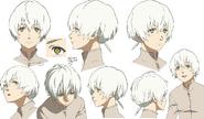 Fushi Anime Character Design
