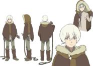 The Nameless Boy Anime Character Design
