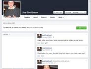 Joe Smithson - Josh AM facebook