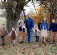 Josh Duggar family Autumn 2020