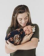 Evelyn newborn photo