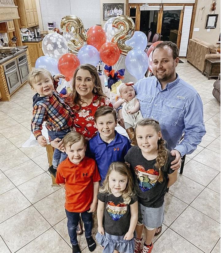 Josh Duggar Family