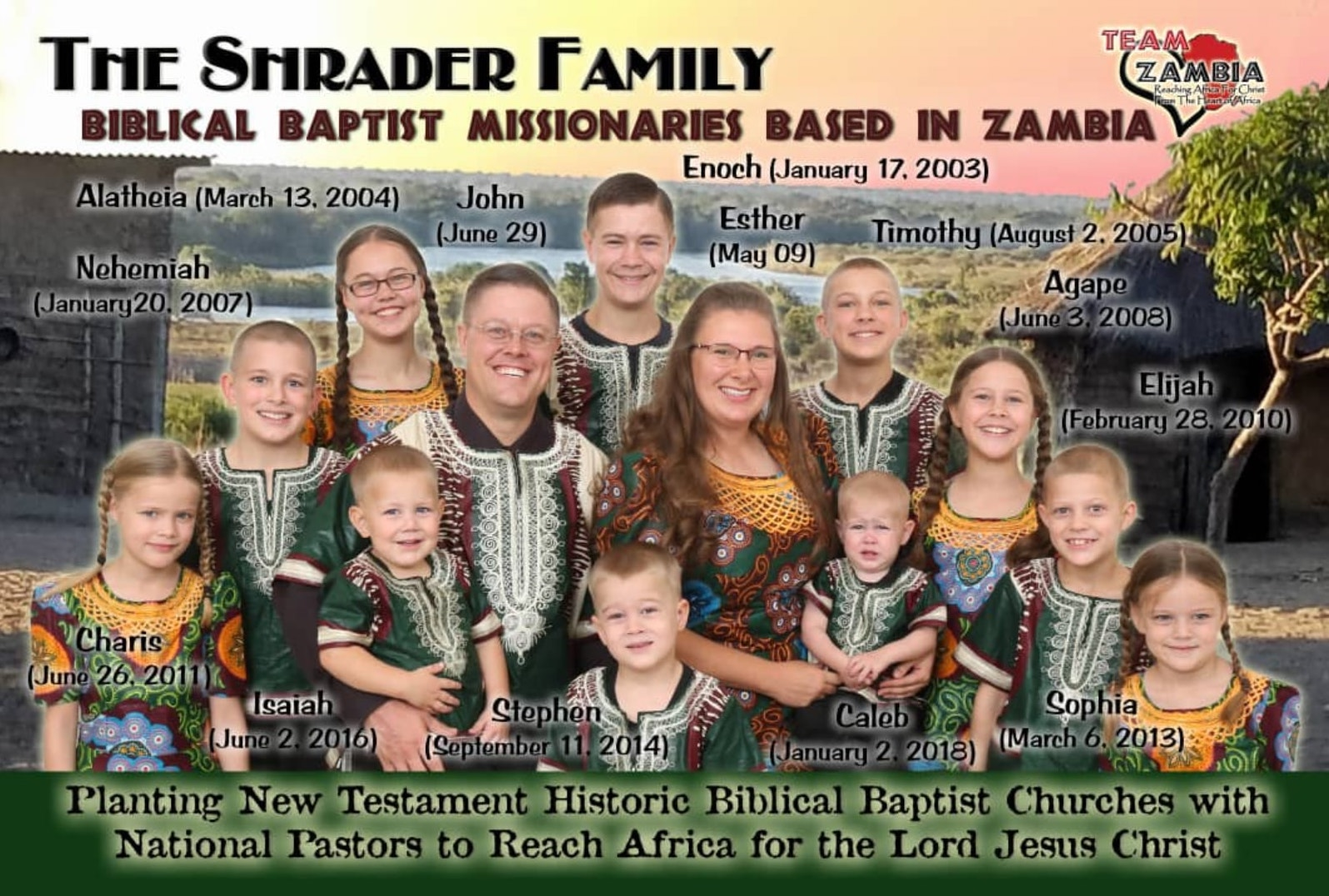 Shrader Family