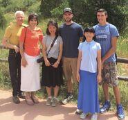 Gina Hall Family