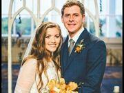Joy and Austin on their wedding day