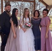 Katelyn's Maternal family at her wedding