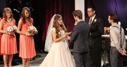 Jessa and Ben exchanging vows