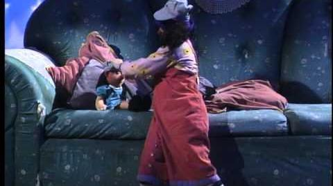 """The Big Comfy Couch - Season 1 Ep 3 - """"All Aboard for Bed"""""""
