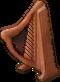 Wooden Harp Large