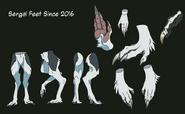Sergal foot
