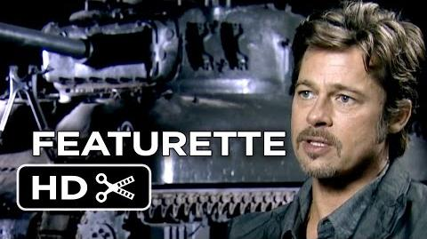 Fury Featurette - Heart and Soul (2014) - Brad Pitt, Logan Lerman War Movie HD
