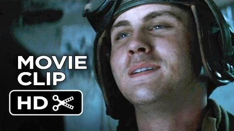 Fury Movie CLIP - Best Job I Ever Had (2014) - Logan Lerman, Shia LaBeouf Movie HD