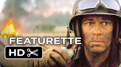 Fury Featurette - Go Inside The Tanks (2014) - Michael Peña, Brad Pitt War Movie HD