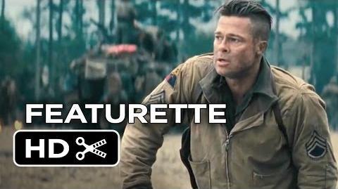 Fury Featurette - Recreating Hell (2014) - Brad Pitt, Logan Lerman War Movie HD
