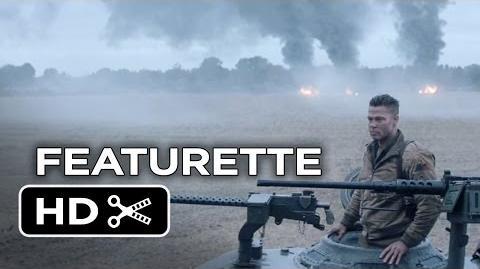 Fury Featurette - Hermandad (2014) - Brad Pitt, Logan Lerman War Movie HD