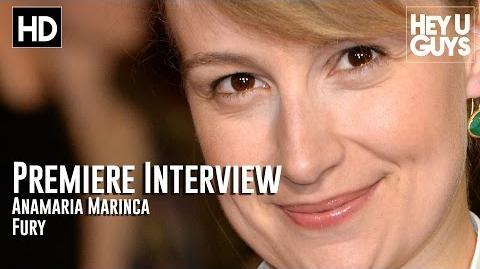 Anamaria Marinca Interview - Fury Premiere