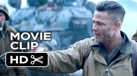 Fury Official Movie Clip - I Can't Do It (2014) - Brad Pitt War Movie HD