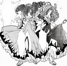 Fine and Rein's First Transformation in the Manga.png