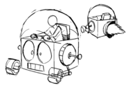 Robot Jones Hovercar Concept Art