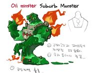 13.MOB OilMonster concept