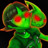 FusionFall RESPAWN Fusion Buttercup and Spawn Twitter Profile Pic
