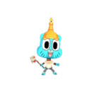 Gumball candle