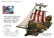 Stickybear ship 01