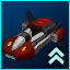 DX Red Dynamo Hovercar