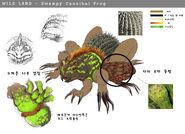 49.MOB Swampy cannibal frog