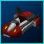 Red Dynamo Hovercar