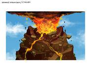 Monkey mountain crater