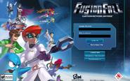 FusionFall Login Screen