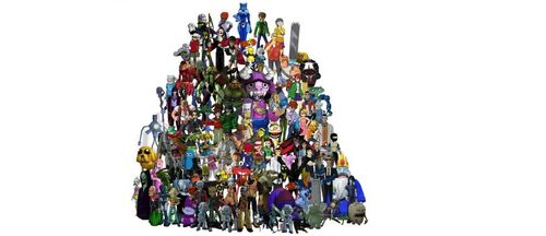 452px-FusionFall Entire Cast by Chill8ter1.jpg