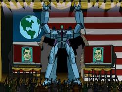 Президент Земли Ричард Никсон