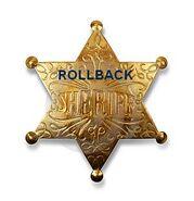 Distintivo rollback