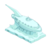 Decoration Planet Express Ship Snow Sculpture.png