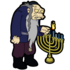 Chanukah Zombie Light the Menorah.png