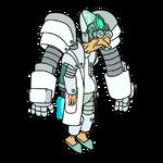 Power Suit Professor