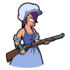Colonial Leela Shoot Her Musket.png
