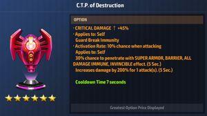 CTP of Destruction Max Stats.jpg