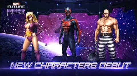 MARVEL Future Fight New Characters & New Uniforms in August Update!