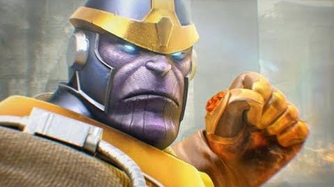MARVEL Future Fight The Ultimate Villain, Thanos with Infinity Gauntlet!