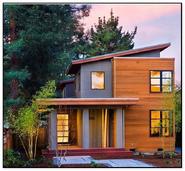 Concrete-Timber House